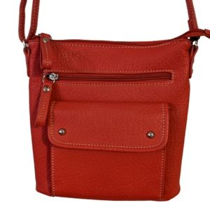 Kelly & Katie Red Faux Leather Bag